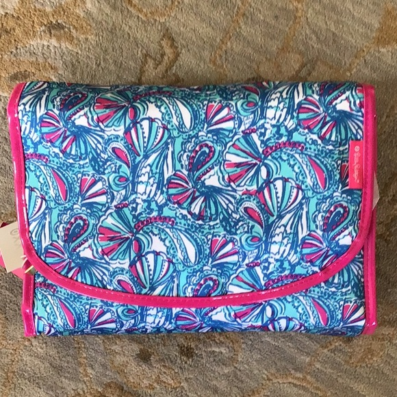 New Lilly Pulitzer Travel Make Up/Jewelry Case